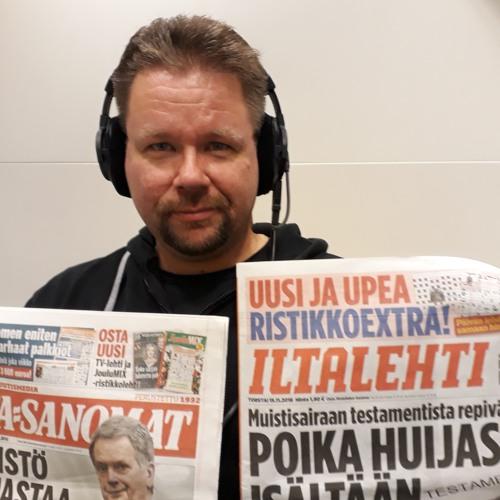 Kuuntele tutkijaa: Onko iltapäivälehtien julkaiseminen hyvää bisnestä, Pasi Kivioja?