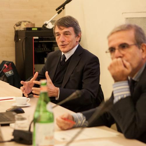 'La necessità di una corretta comunicazione in vista delle elezioni europee', con David Sassoli
