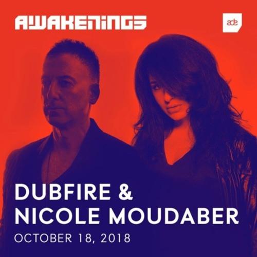 Dubfire B2B Nicole Moudaber, AWAKENINGS ADE18, Amsterdam 18.10.2018