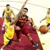 Los Cavaliers de Cleveland y Los Lakers de Los Angeles el 21 de November del 2018