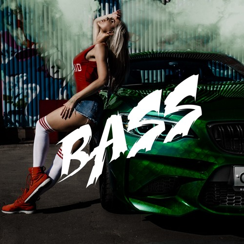 Girl In Car With Bass