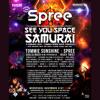 Live at See You Space Samurai - Brooklyn, NY Nov 21, 2018 - Spree