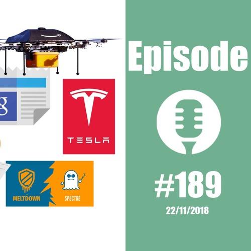 #189: Des Bitcoins, des clopes, des drônes, des frites, des fuites,... et l'immortalité en prime !