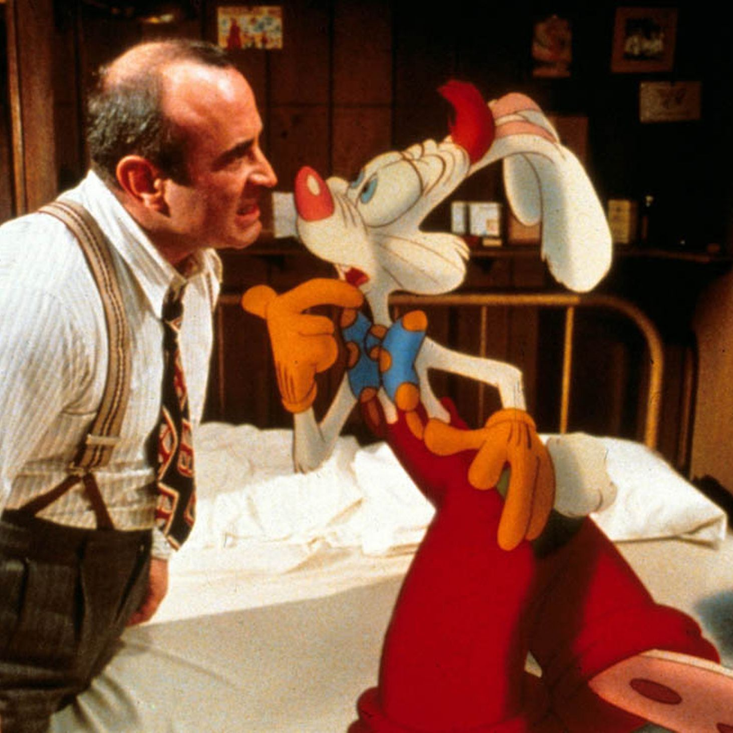 W is for Who Framed Roger Rabbit