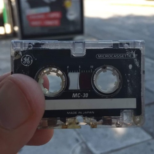 Microcassette From A Greek Answering Machine
