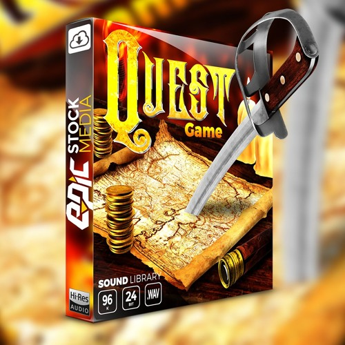 Quest Game - Fantasy and Adventure Sound Effects Library