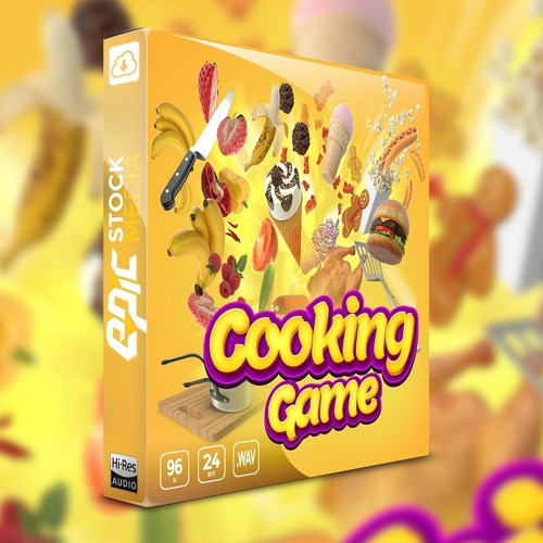 Cooking Game - Sound Effects Library