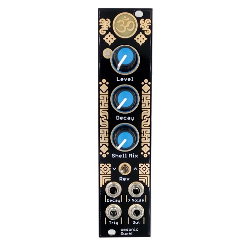 omsonic – Ouch! Analog Snare Drum Eurorack Module // Audio Demo