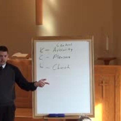 11/25/18 - Sunday School -  Levite and Concubine