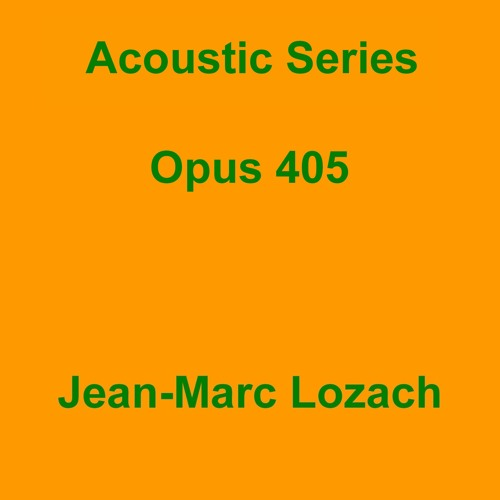 Acoustic Series Opus 405