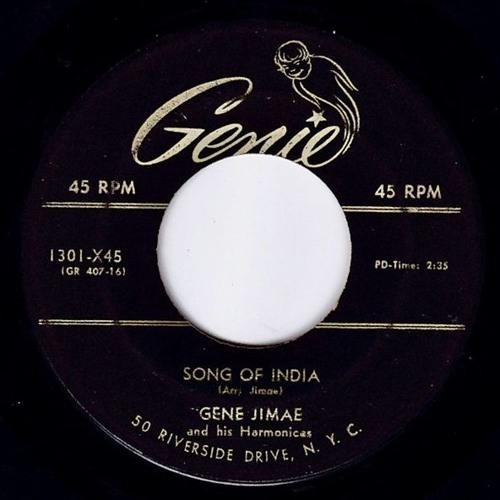 Gene Jimae - Song Of India