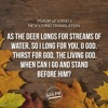 Word On The Way For 12 - 01 - 18- Psalm 42 - 1 (Casting Crowns)