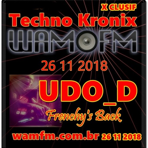 UDO_D new reality dark & techno @ WAMFM.COM.BR