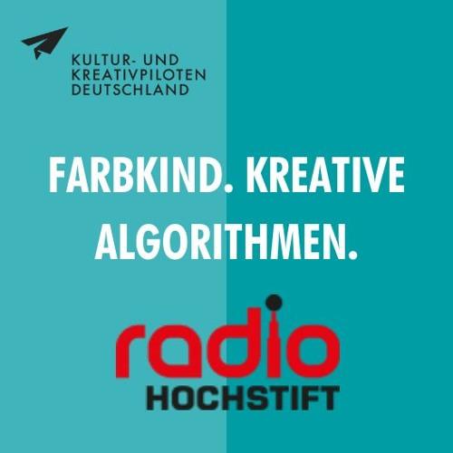 Interview mit Patrik Hübner von FARBKIND. KREATIVE ALGORITHMEN. auf Radio Hochstift