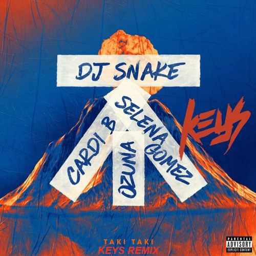 DJ Snake - Taki Taki ft. Selena Gomez, Ozuna, Cardi B (Keys Remix)
