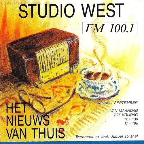 RADIO 2 - INTERNE PROMO VOOR STUDIO WEST