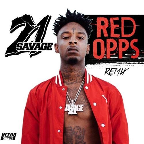 21 Savage Red Opps Prod Buffalo666 By Buffalo666