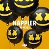 Marshmello - Happier (ft. Bastille)(Official Instrumental)