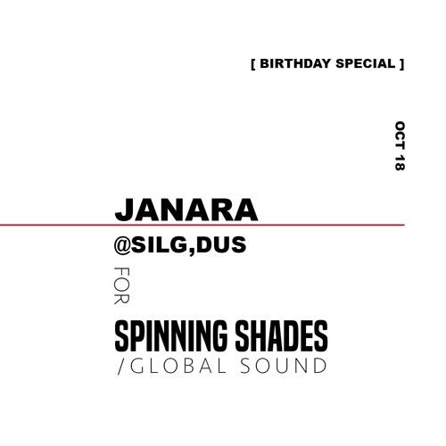 JANARA for SPINNING SHADES [ birthday special @silq ]