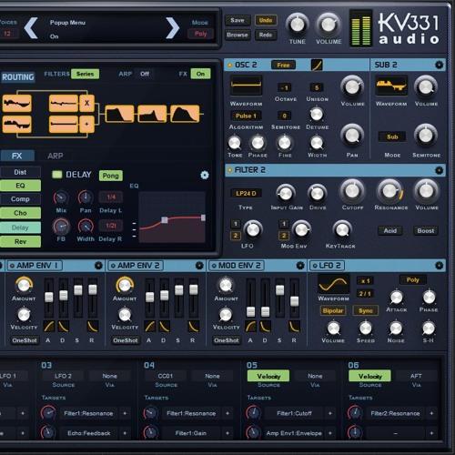 KV331 Audio SynthmasterOne presets