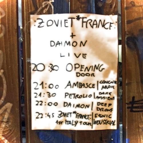 Live at Mikasa, Bologna, 3 November 2018