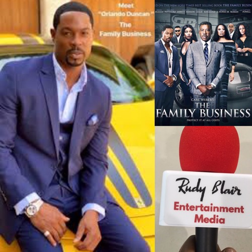 "Chat w Actor Actor Darrin D Henson on BET  original series ""The Family Business"""