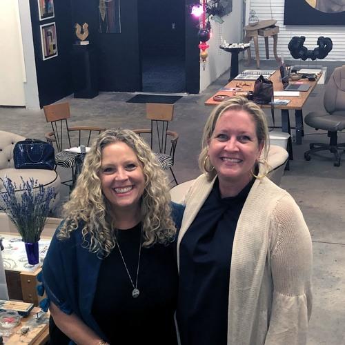 Lorie Mertes & Beth Boone: Making Art Happen