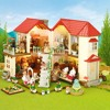 Sylvanian Families Designer Studio And City House With Lights TVC