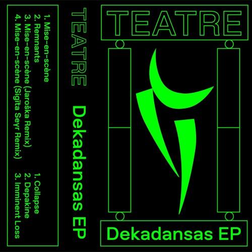 """PRÈMIÉRE: TEATRE - """"Mise-en-scène"""" [PPP Records]"""