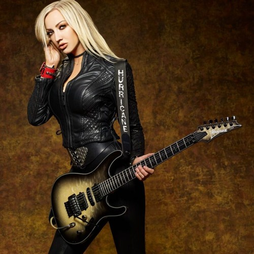 Nita Strauss from Alice Cooper