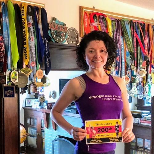 113: From Wheelchair Bound to Running More Than 212 Marathon/Ultra: Talking with Julia Khvasechko