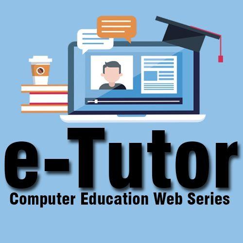 e-Tutor Audio Promo - Computer Education Web Series