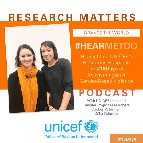 #HEARMETOO: UNICEF Research on Gender-Based Violence for #16Days of Activism