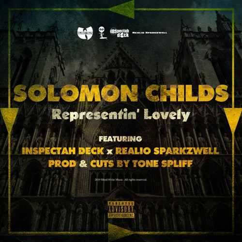 Representin' Lovely Feat. Inspectah Deck & Realio Sparkzwell (prod & cuts by Tone Spliff)