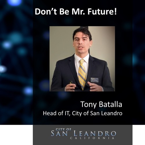 Ep. 22: Don't Be Mr. Future! - Tony Batalla