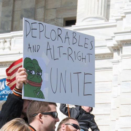Alt-right and Pepe The Frog