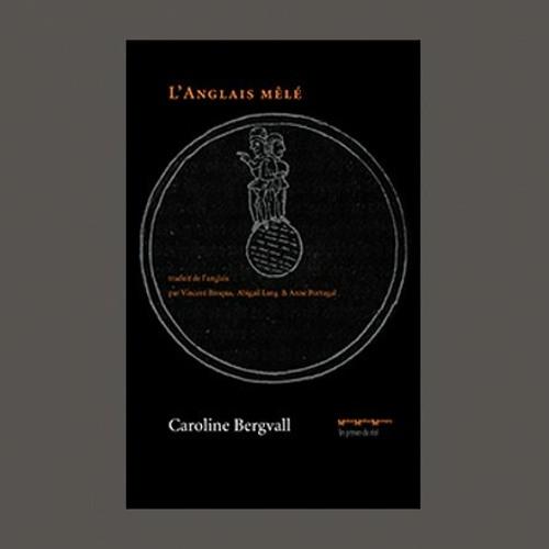 """Caroline Bergvall, """"l'Anglais Mêlé"""", éd. les Presses du Réel"""