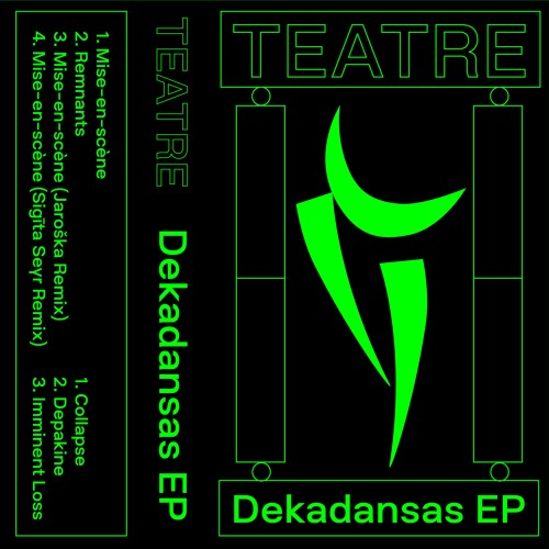 [PPP011] TEATRE - Dekadansas EP
