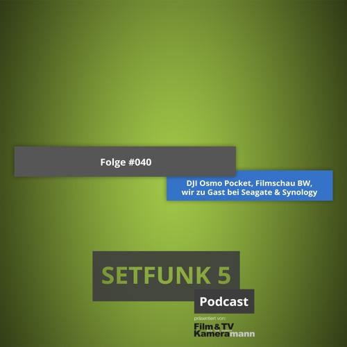"Setfunk 5 - Folge #040: ""Neues Setup, DJI Osmo Mobile, wir bei Seagate & Synology"""