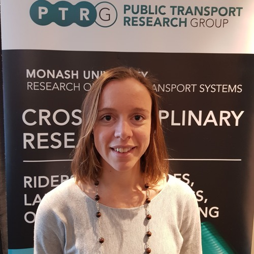 Young Professionals: Laura Aston is doing a PhD; She has some clear ideas on our transport needs