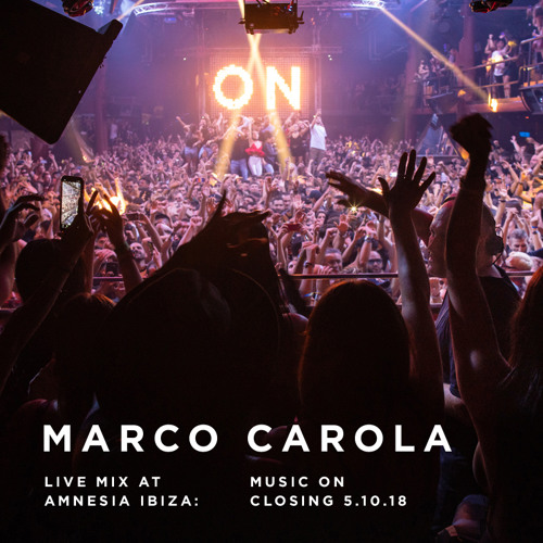 Marco Carola - Music On Closing 05.10.18 Live Mix at Amnesia Ibiza