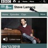Steve Lamacq plays 'Lyrics Spree' on BBC Radio 6 Music on the 4th December 2018.