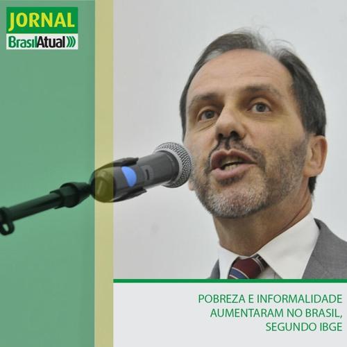 Pobreza e informalidade aumentaram no Brasil, segundo IBGE