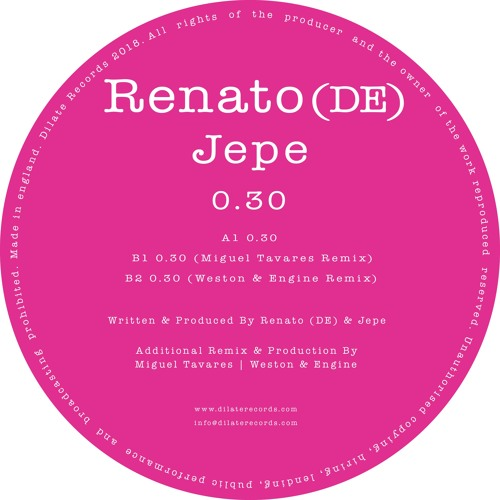 Renato (DE), Jepe - 0.30 (Original Mix)