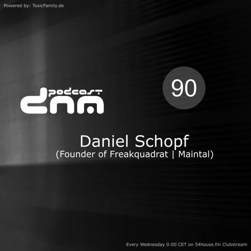 Digital Night Music Podcast 090 mixed by Daniel Schopf