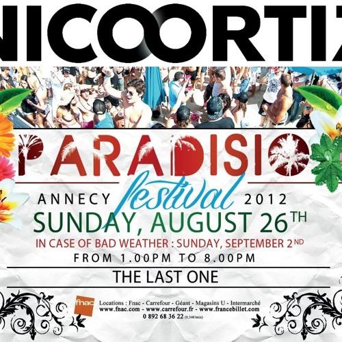 2012 Nico Ortiz @ Paradisio Festival.Annecy - France (Freedownload)