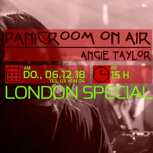 Panicroom ON AIR meets Fractious - London Special  (Part 3) Evosonic Radio