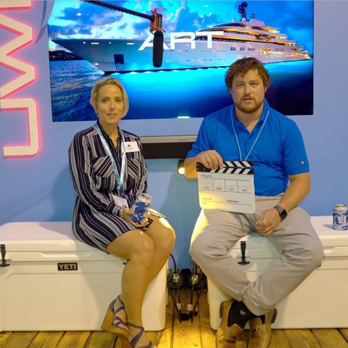 Brandi Porter at the Fort Lauderdale Boat Show 2017