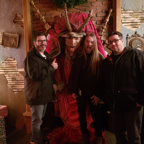88 Fingers Louie visits Krampus haunted house before heading to Costa Rica