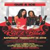 QUE & ICE RED & BLACK PROMO CD 2019